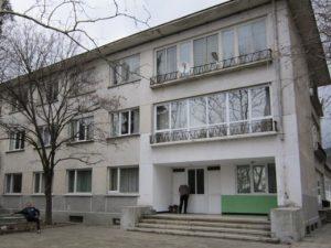 Сградата на общежитието
